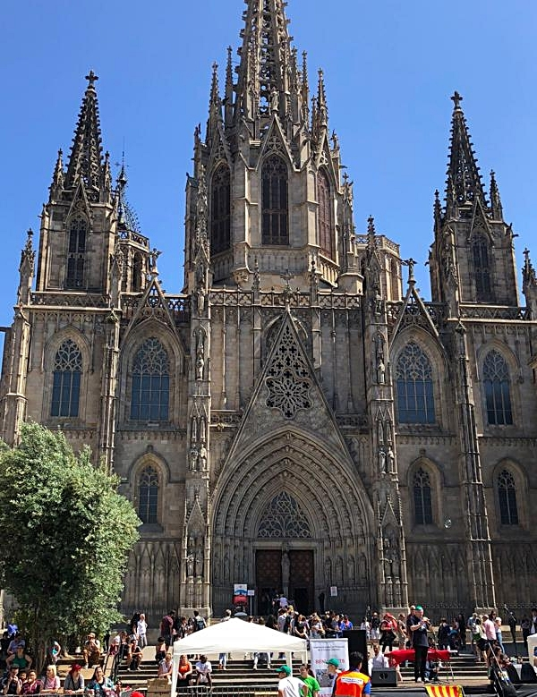 "Cathedral of the Holy Cross and Saint Eulalia or ""La Seu"""