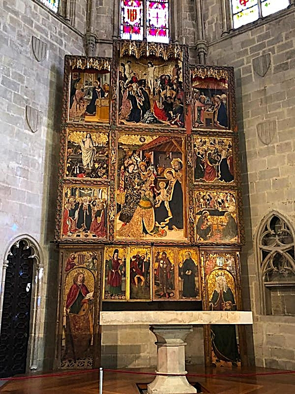 15th Century Altarpiece by Jaume Huguet