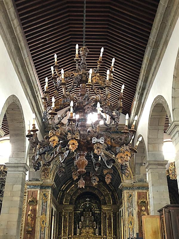Church of Santa Cruz Chandelier