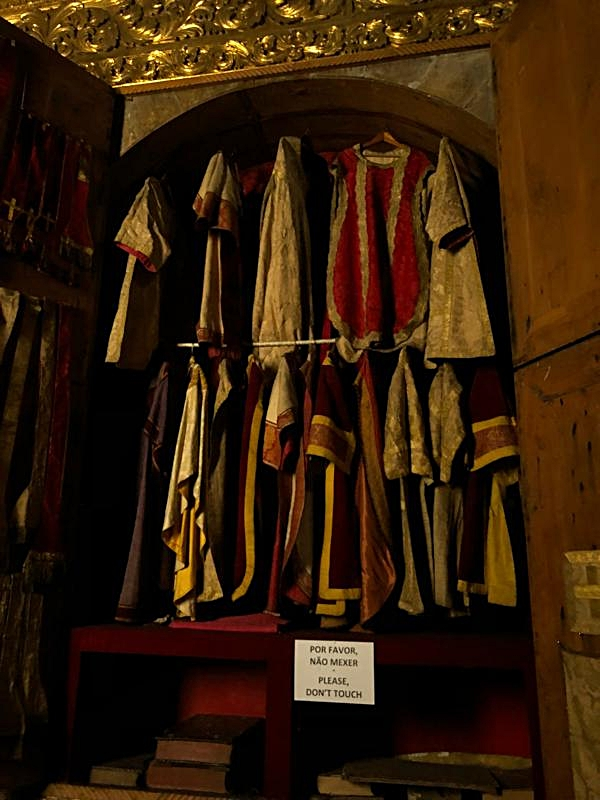 Vestments and Old Books