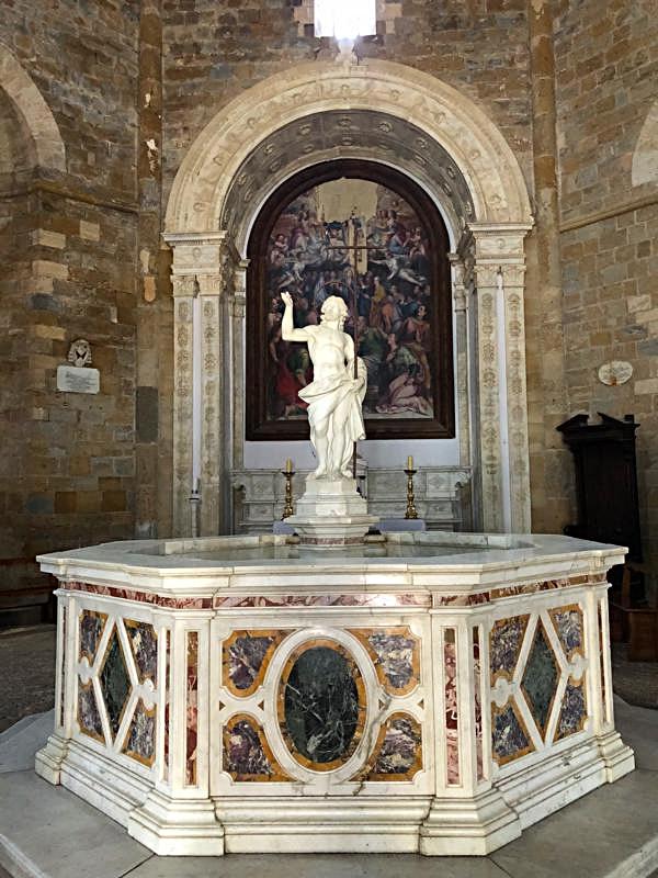 St. John the Baptist Sculpture,by Giovnni Antonio Cybei