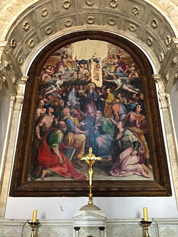 Christ's Ascension by Niccolo Circignani