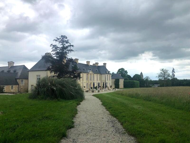 Back of Chateau D'Audrieu