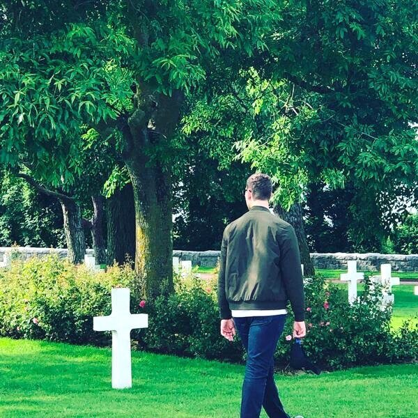 Matthew at cemetery.jpg