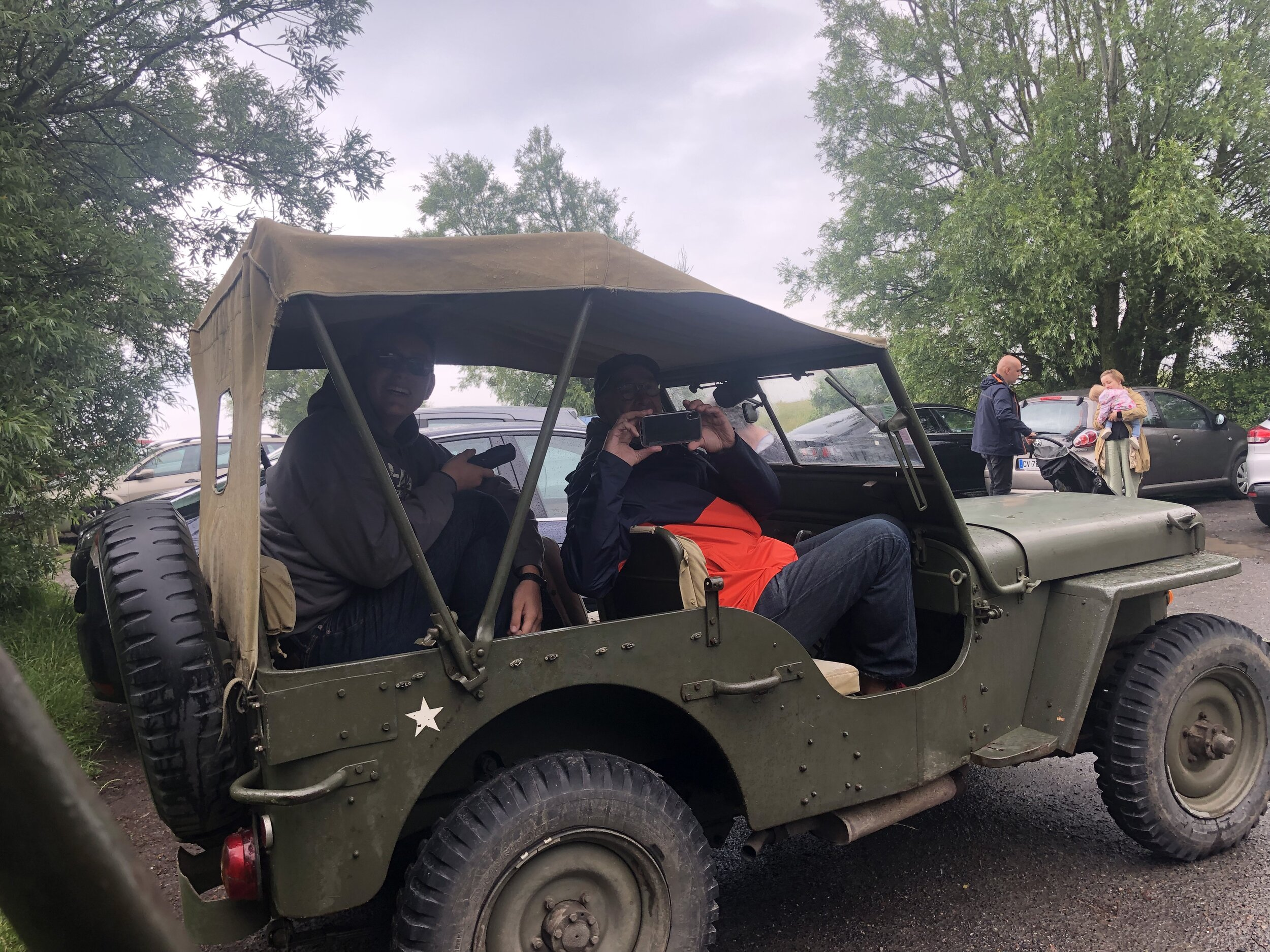 Our World War II Jeep