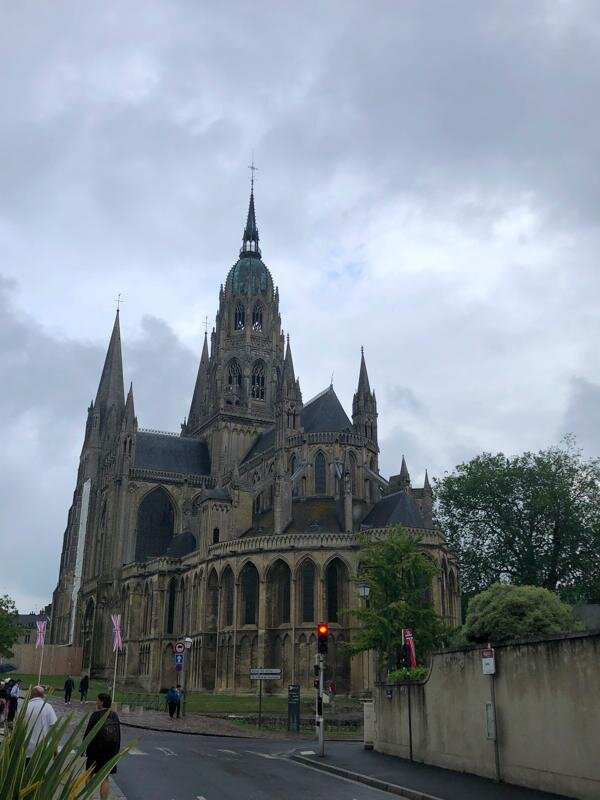 Apse of Bayeux Cathedral