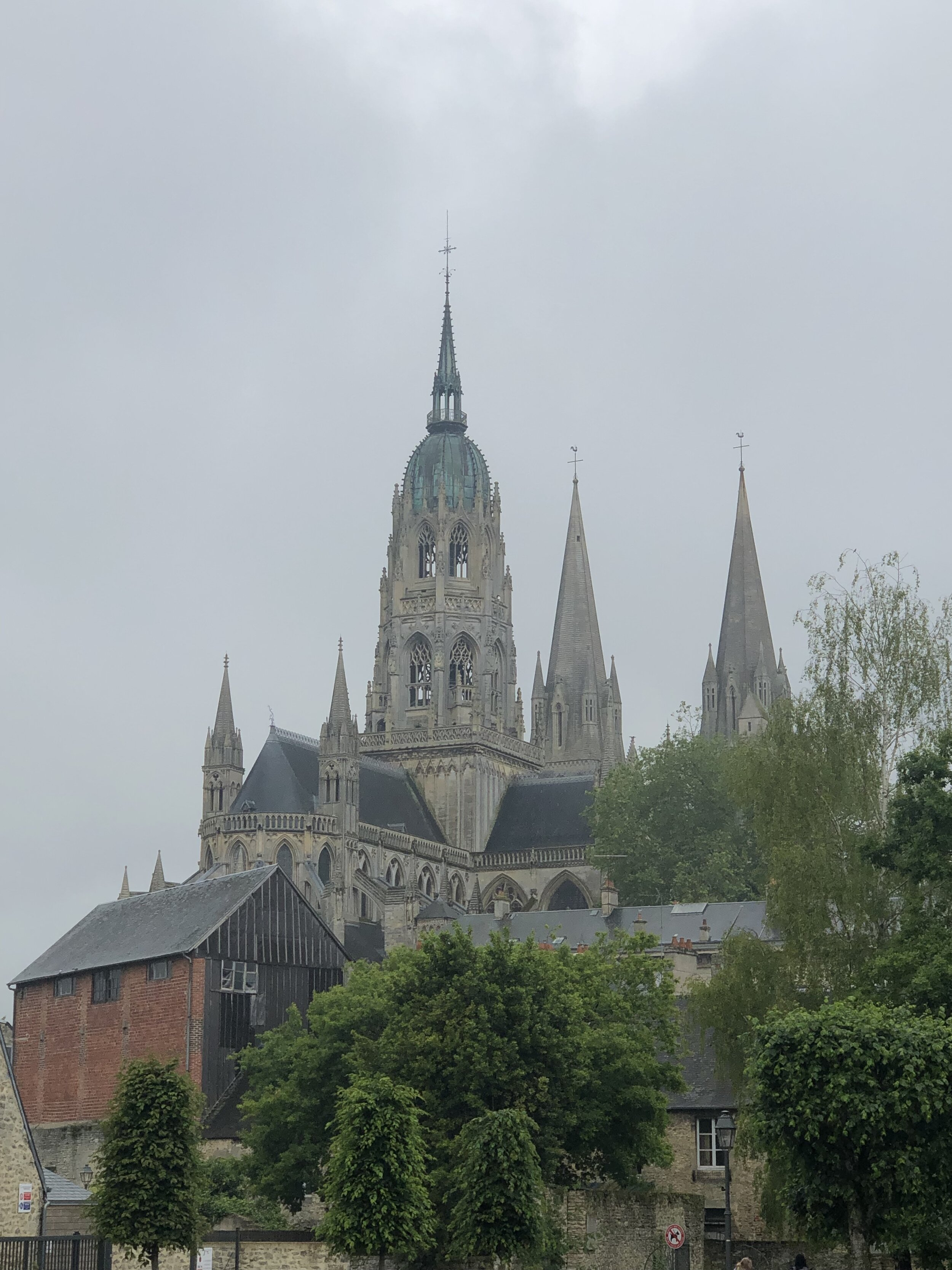 View of Bayeux Cathedral