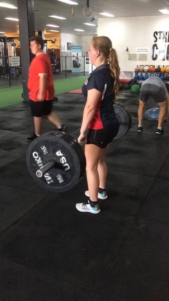 Deadlifts are a phenomenal way to strengthen to entire posterior chain - just be mindful of maintaining the proper back position and ensuring it DOESN'T look like the Sydney Harbour Bridge