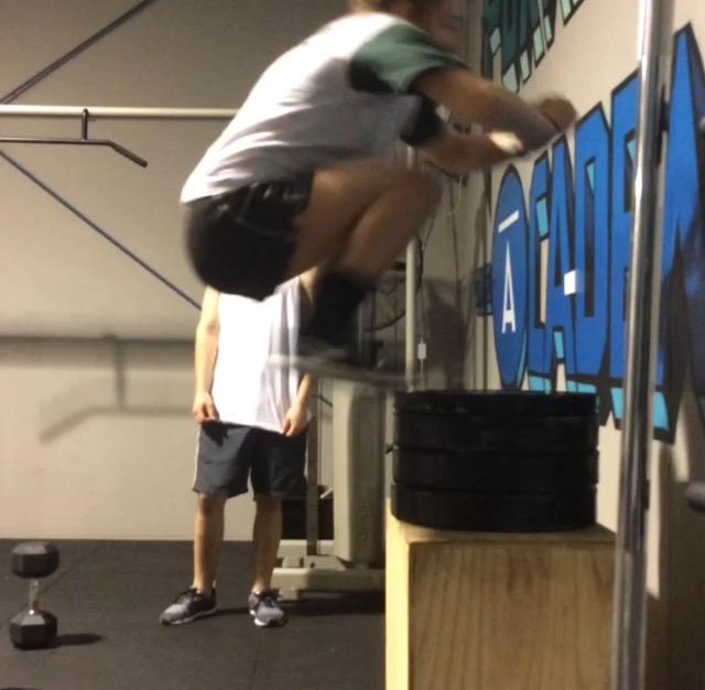 Izzy Box Jump - The Youth Academy
