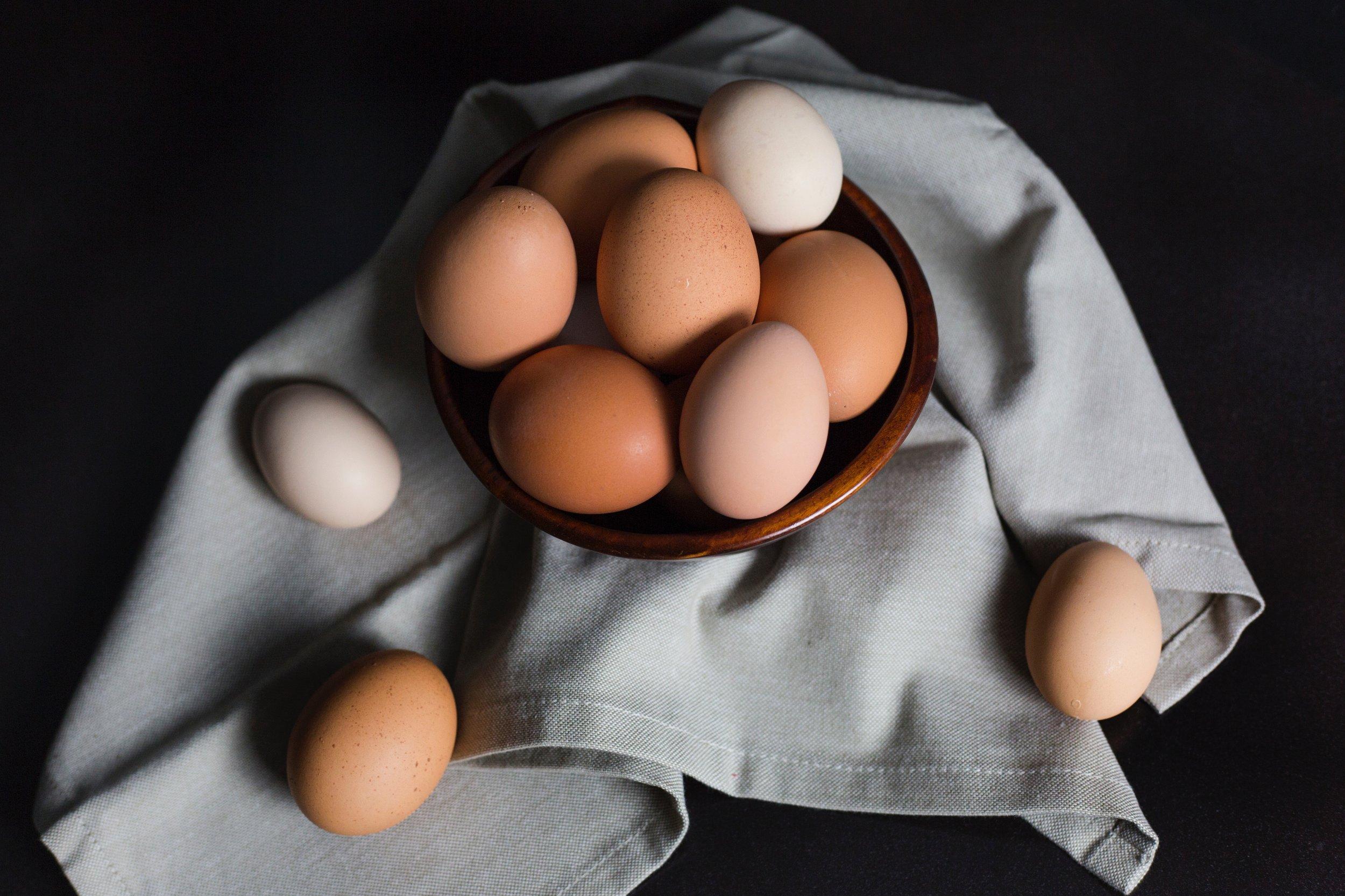 Eggs -