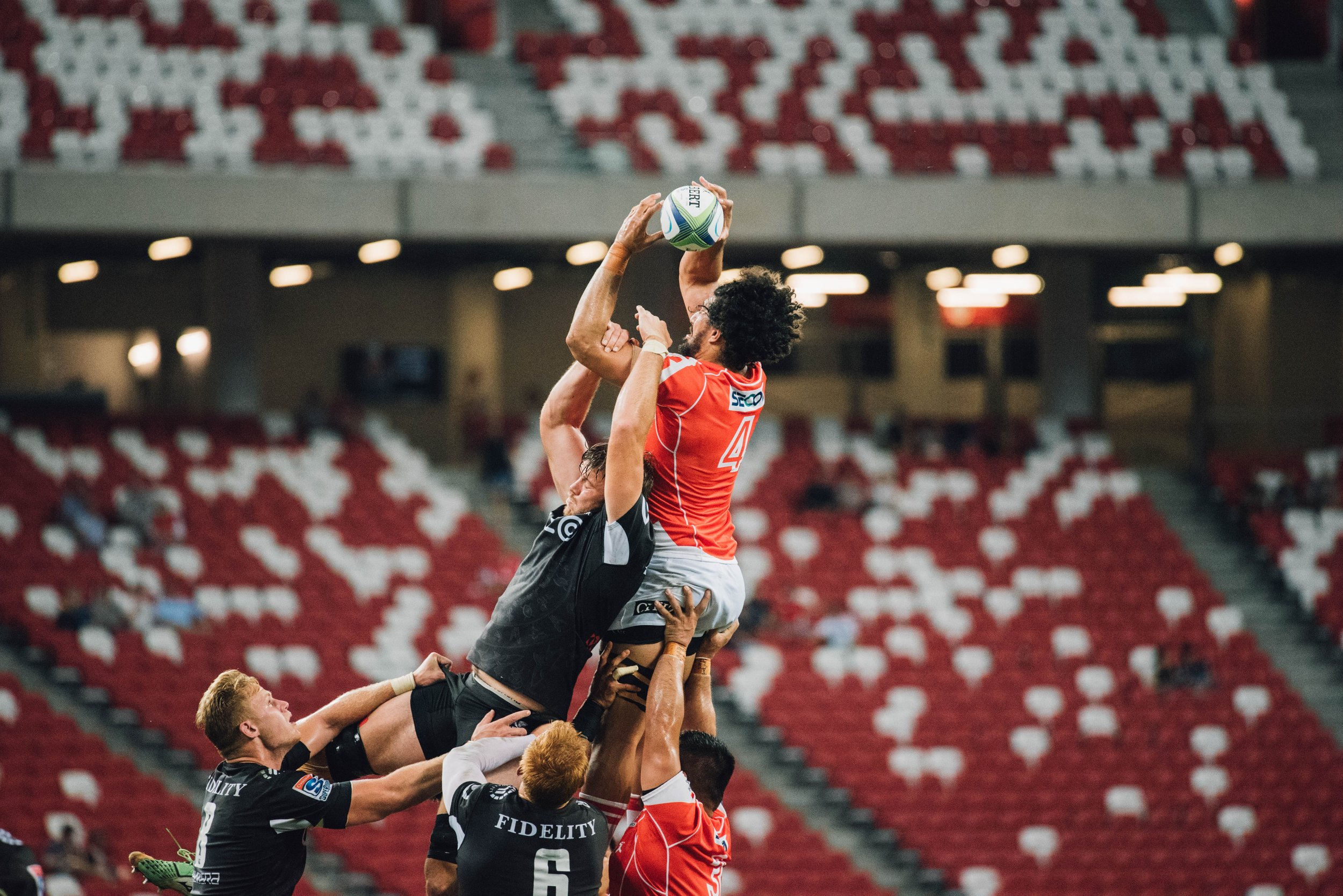 Lineout - The Youth Academy