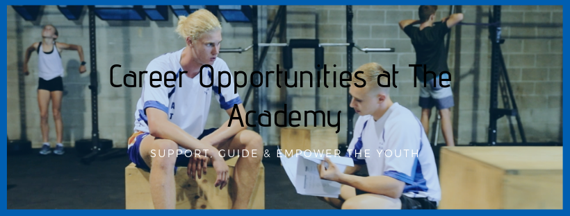 The Youth Academy - Career Opportunities