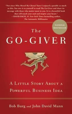 'Most people just laugh when they hear that the secret to success is giving . . . Then again, most people are nowhere near as successful as they wish they were.'  The Go-Giver tells the story of an ambitious young man named Joe who yearns for success. Joe is a true go-getter, though sometimes he feels as if the harder and faster he works, the further away his goals seem to be.    (Note: this series has 4 books, read them ALL)