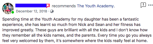 Deb Scott - The Youth Academy