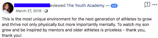 Kirsten - The Youth Academy