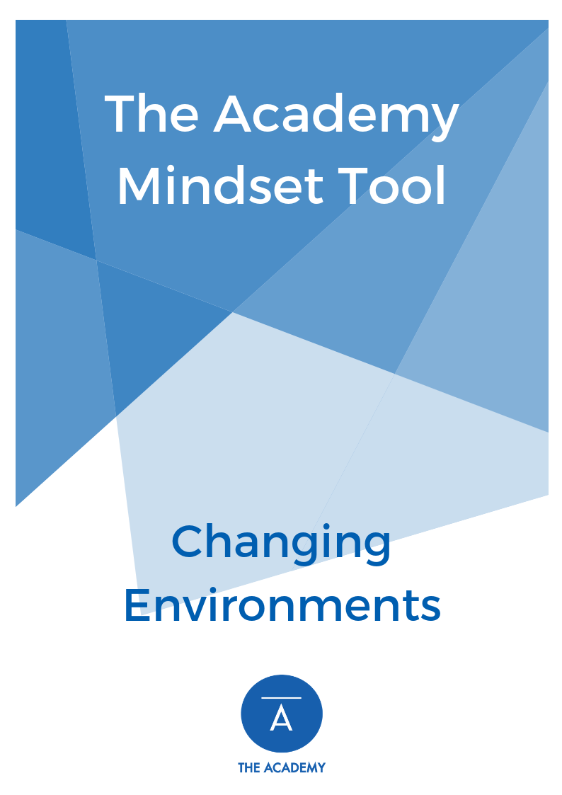 Changing Environments - The Youth Academy