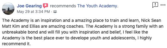 JMan - The Youth Academy