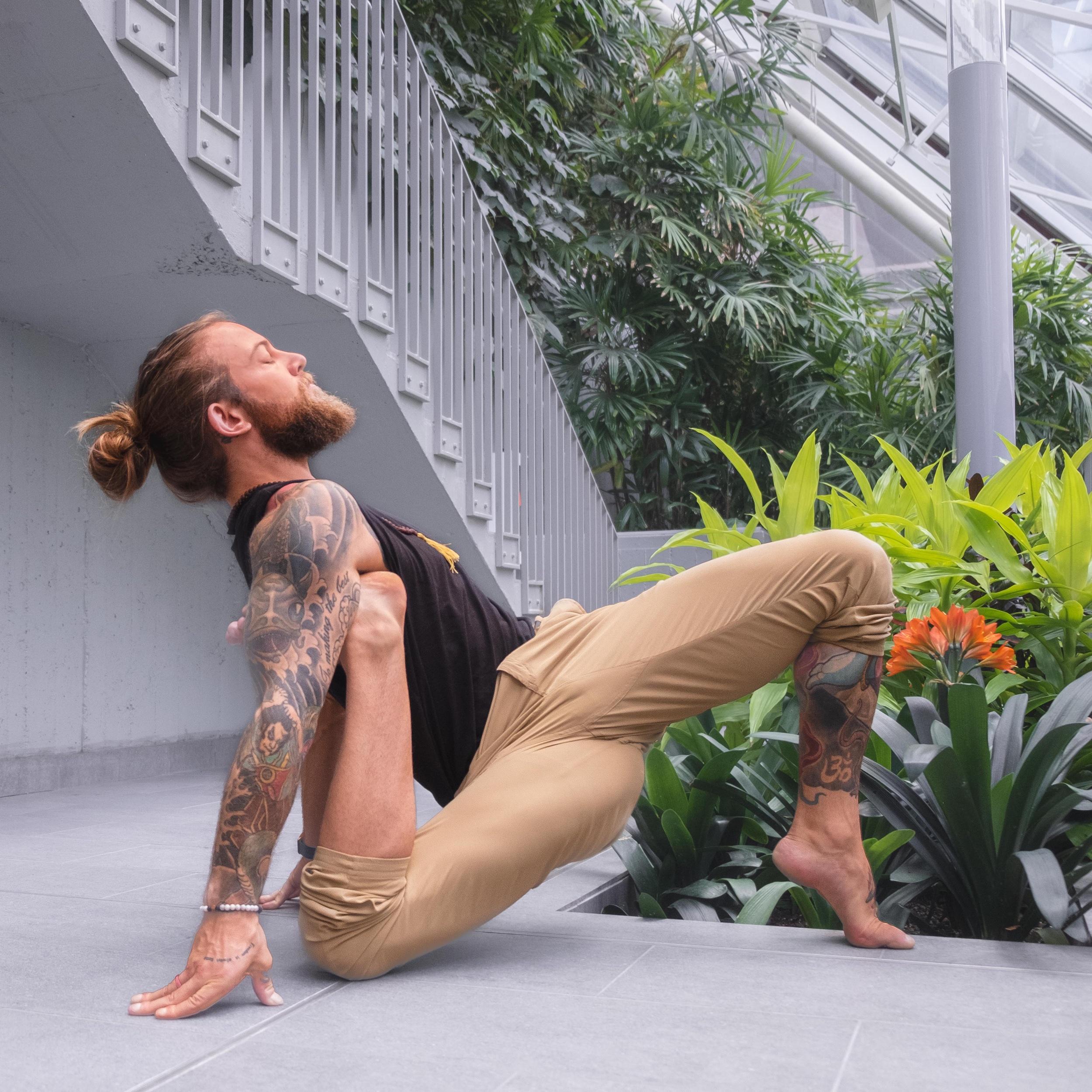 Daniel Rama is a travelling Yoga Teacher.