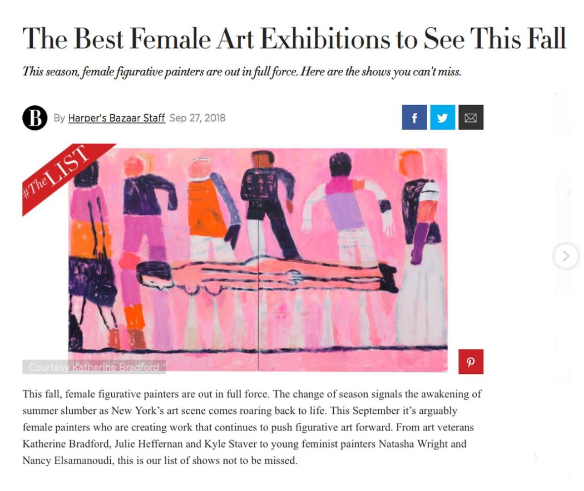 Harper's Bazaar, 2018