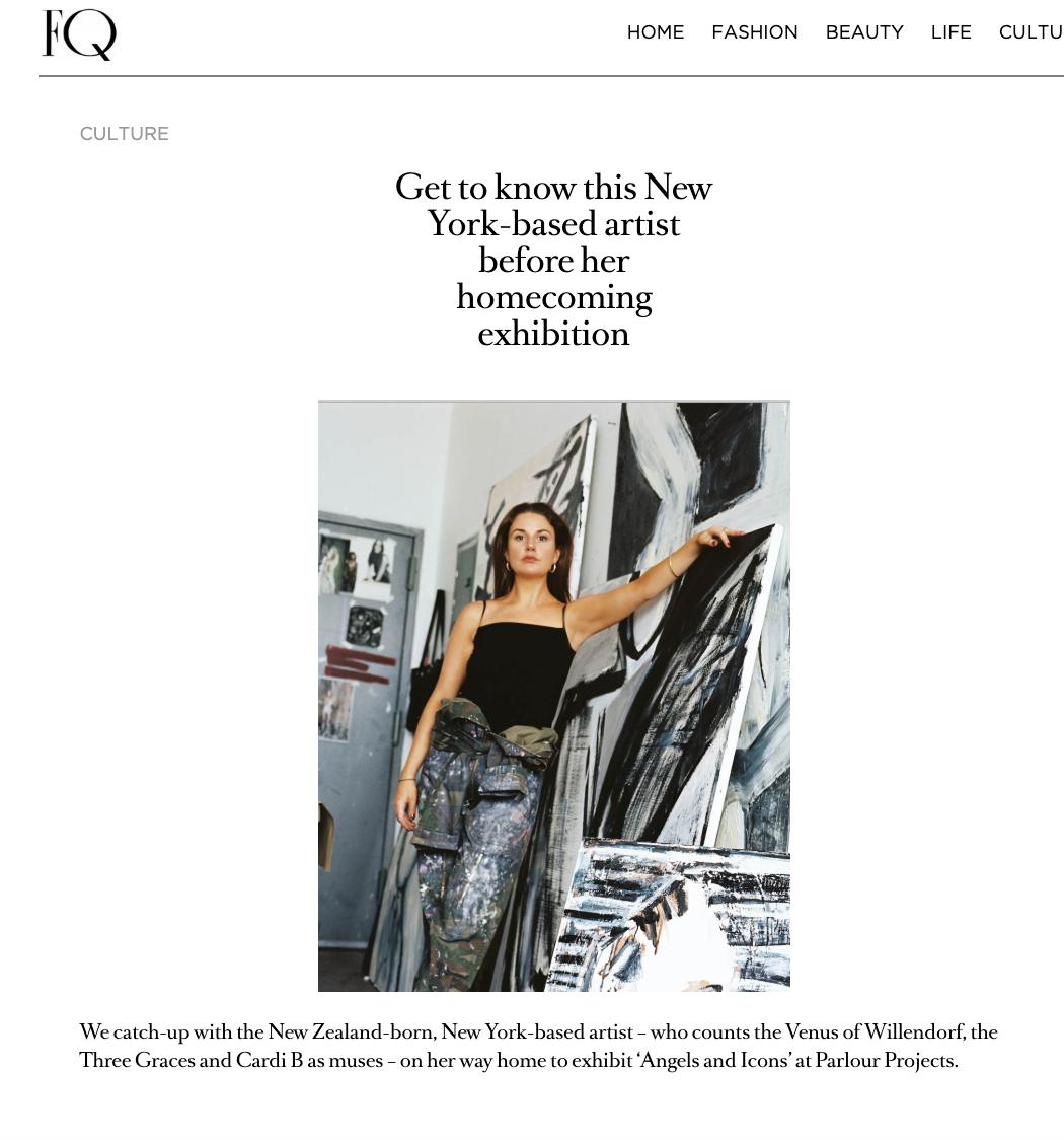 Fashion Quarterly, 2019