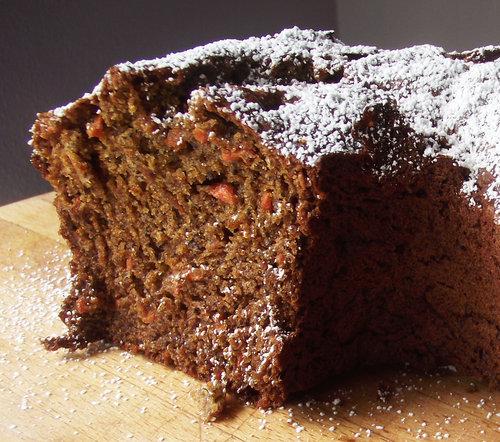 Carrot Poppy Bundt Cake