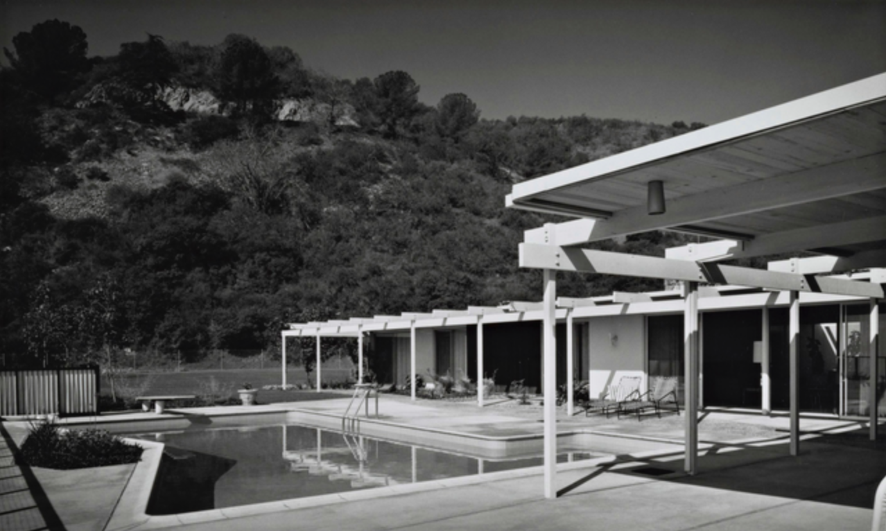 Photo by Julius Shulman from the Getty Museum Collection.