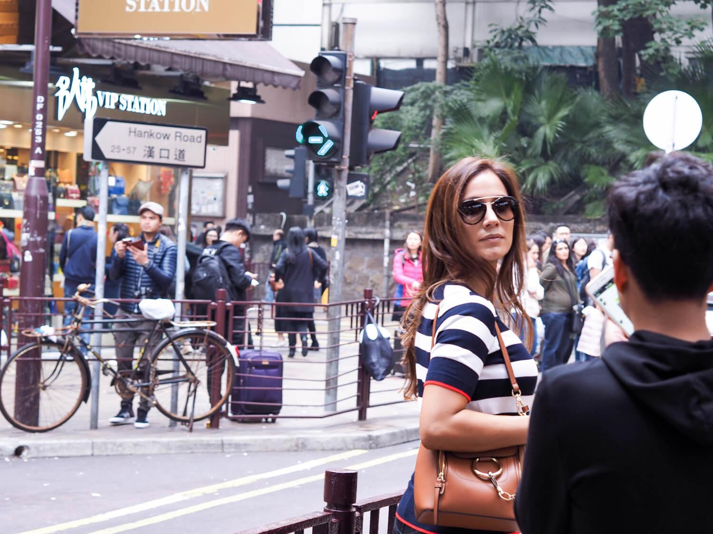 Walking around Hong Kong