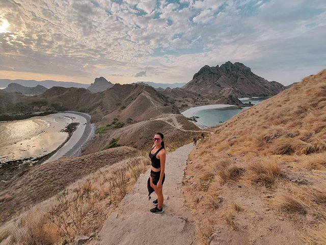 Magnificent Padar Island 😁 where we watched the most incredible sunset!