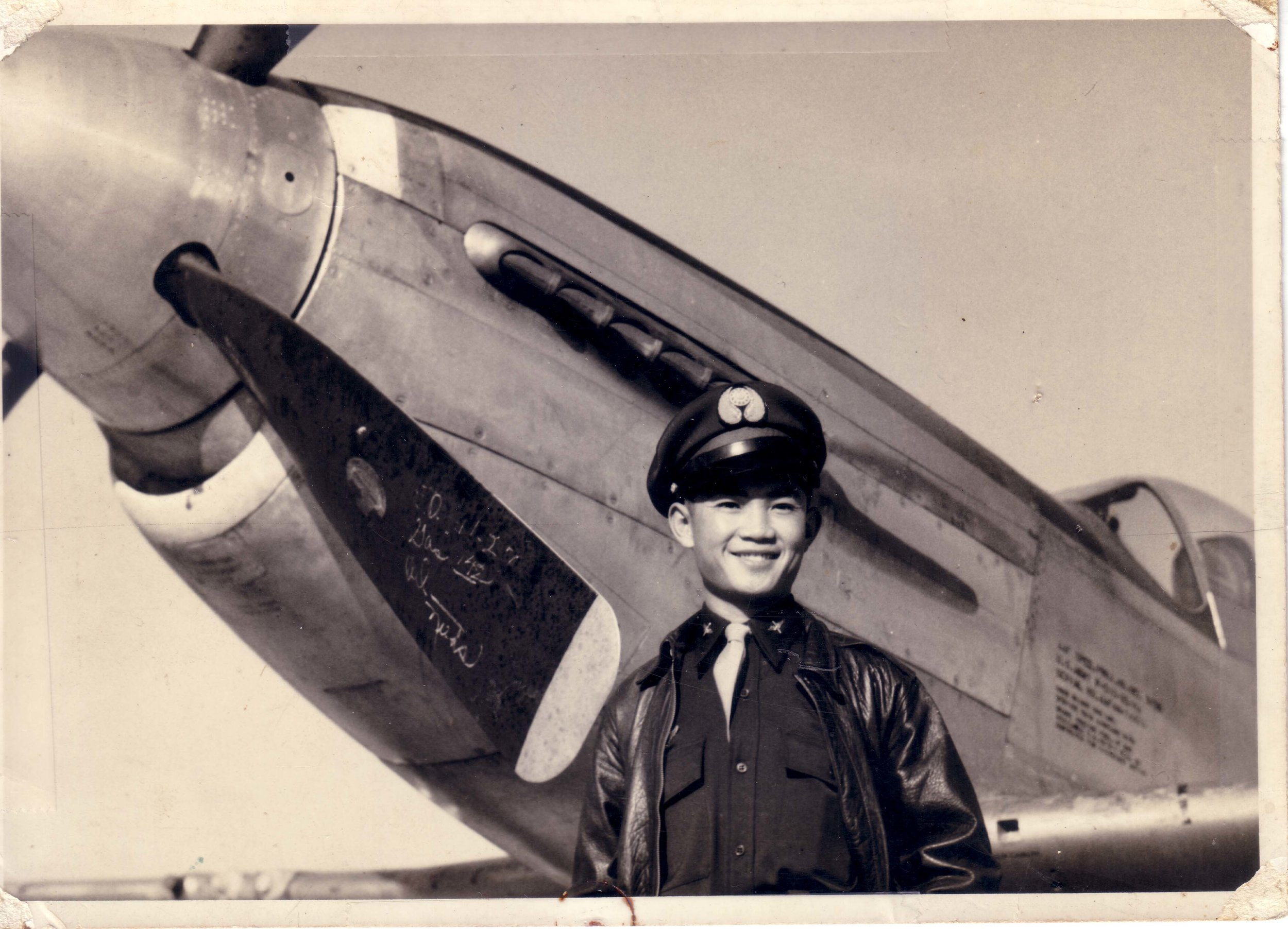 Papa Liang was a respectable Taiwan Air Force Pilot