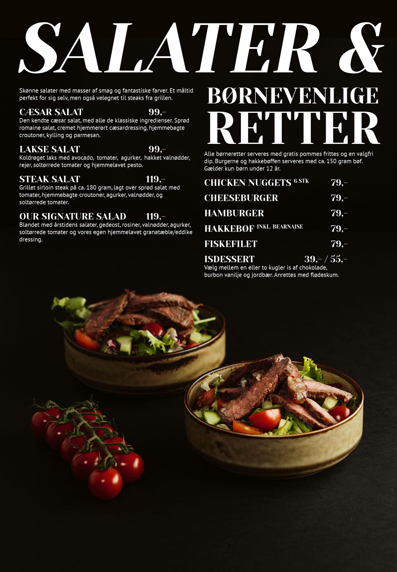 Side 4: Salater og børnevenlige retter