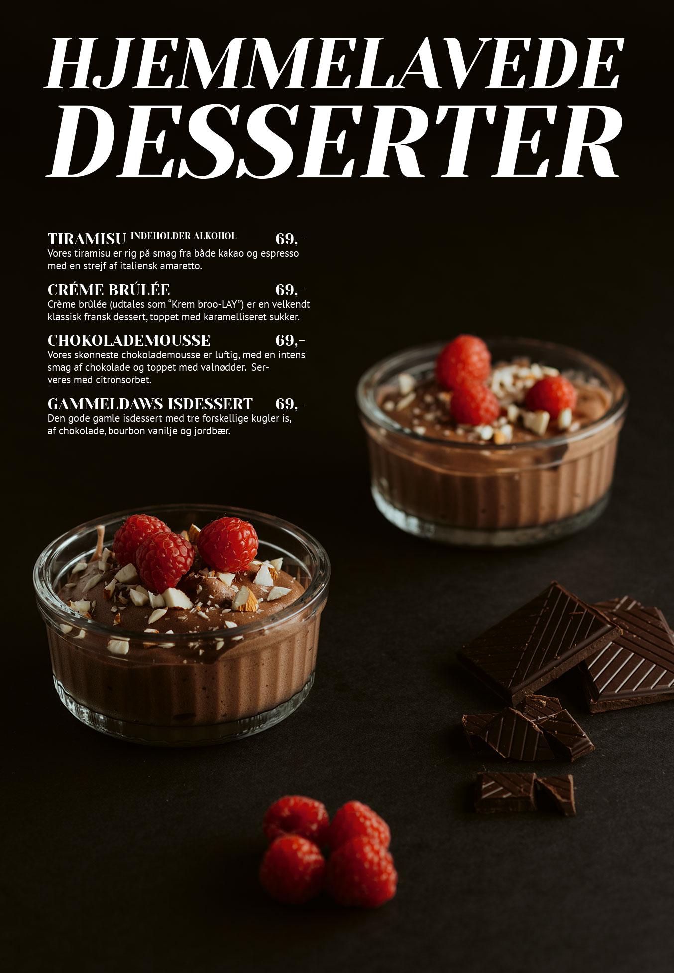 Side 5: Hjemmelavede desserter