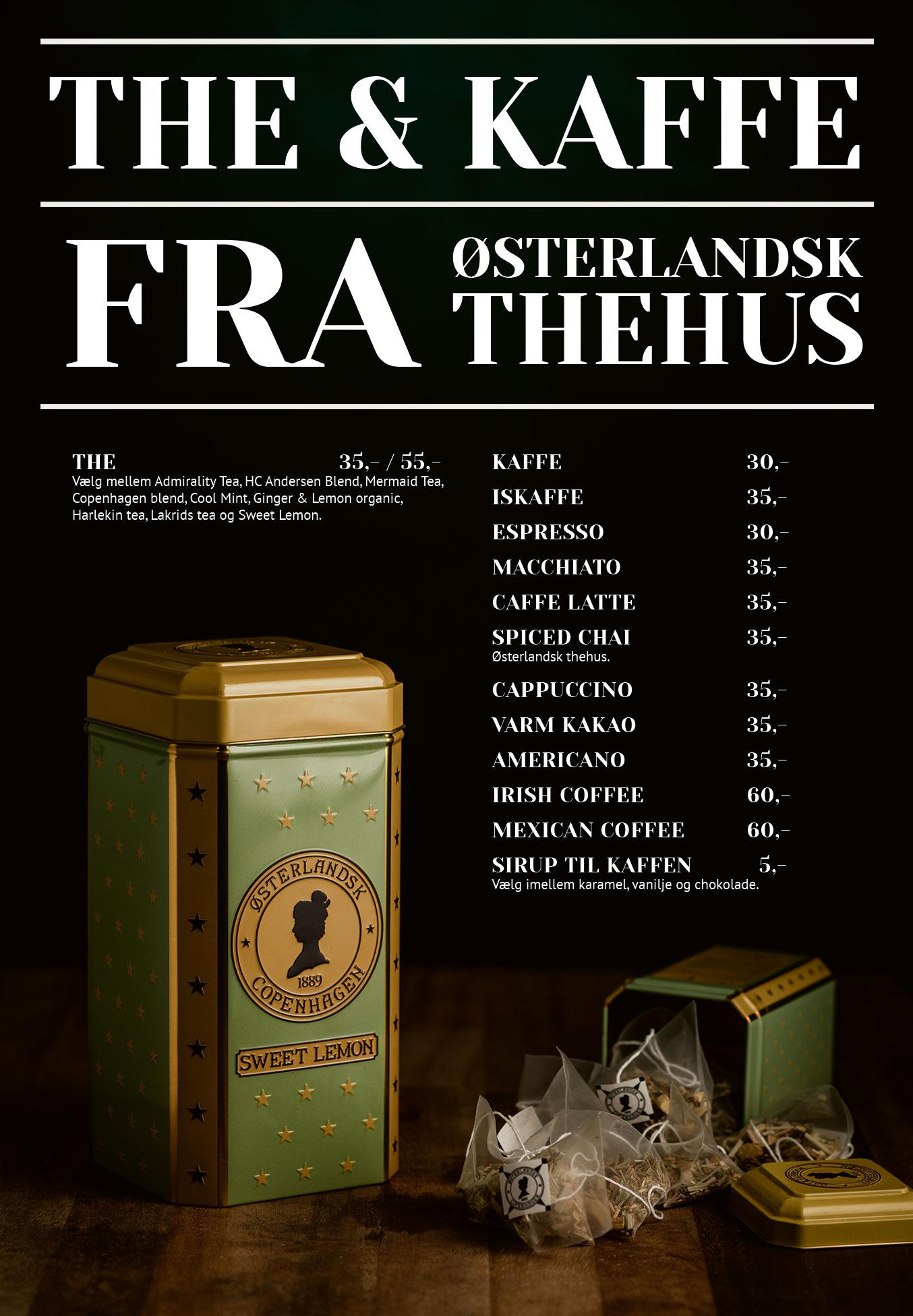 Side 7: The og kaffe fra østerlandsk thehus