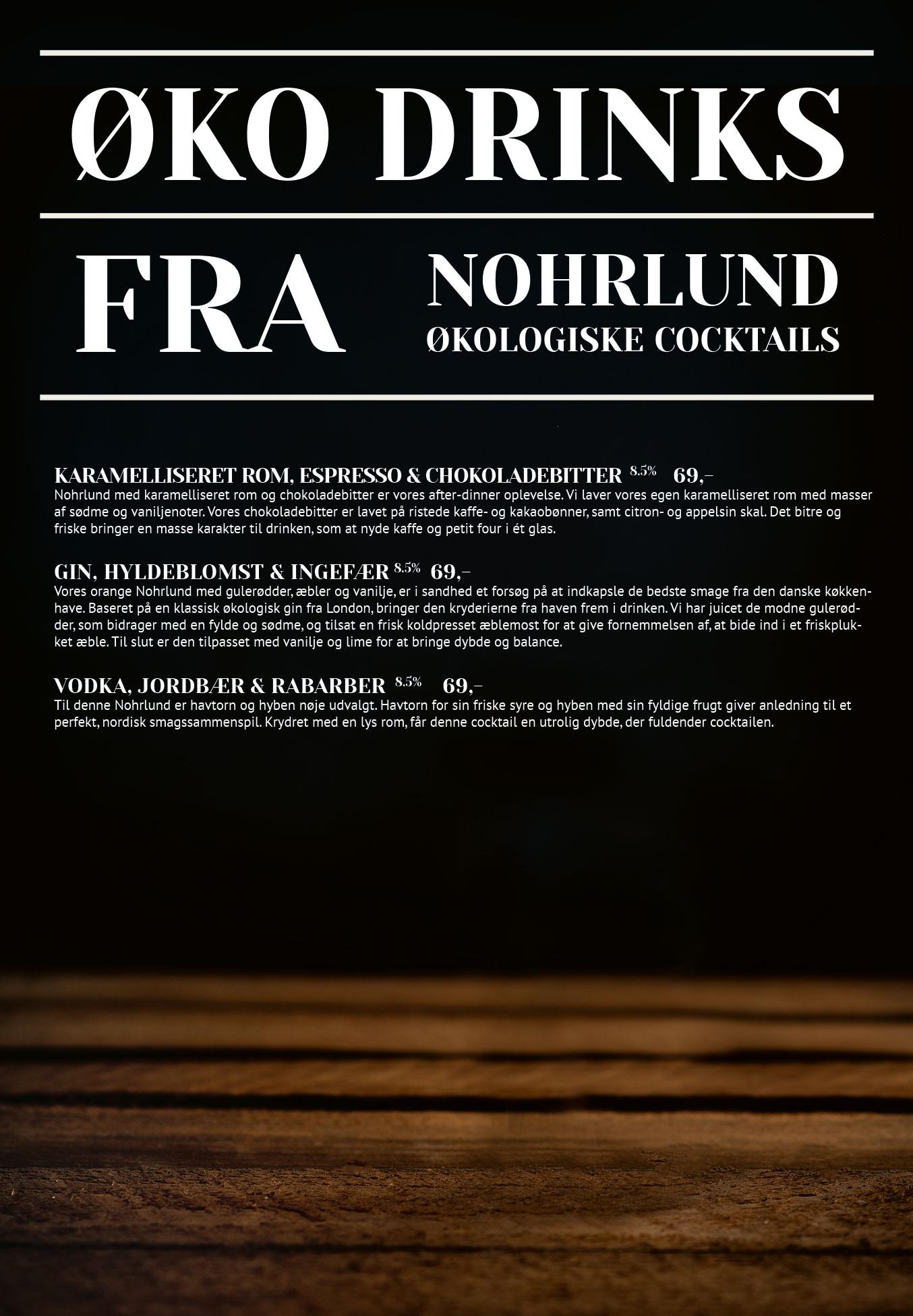 Side 9: Økologiske drinks fra nohrlund