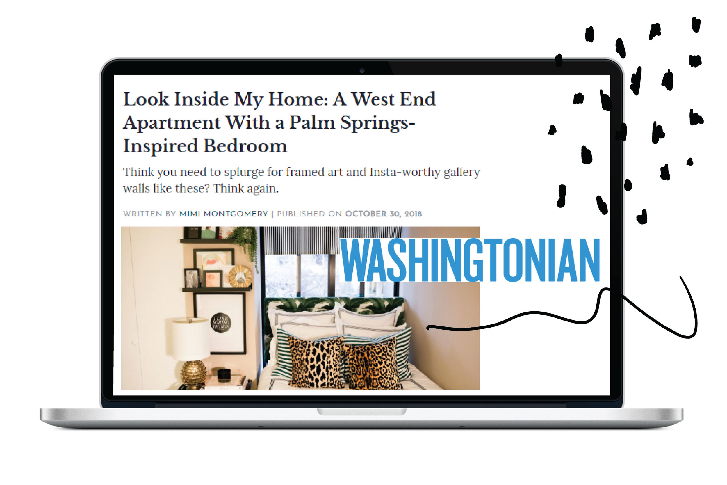 Featured in The Washingtonian -