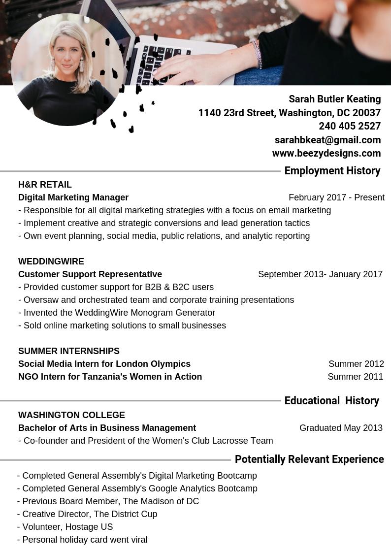 Sarah B. Keating - Resume June 2019.png