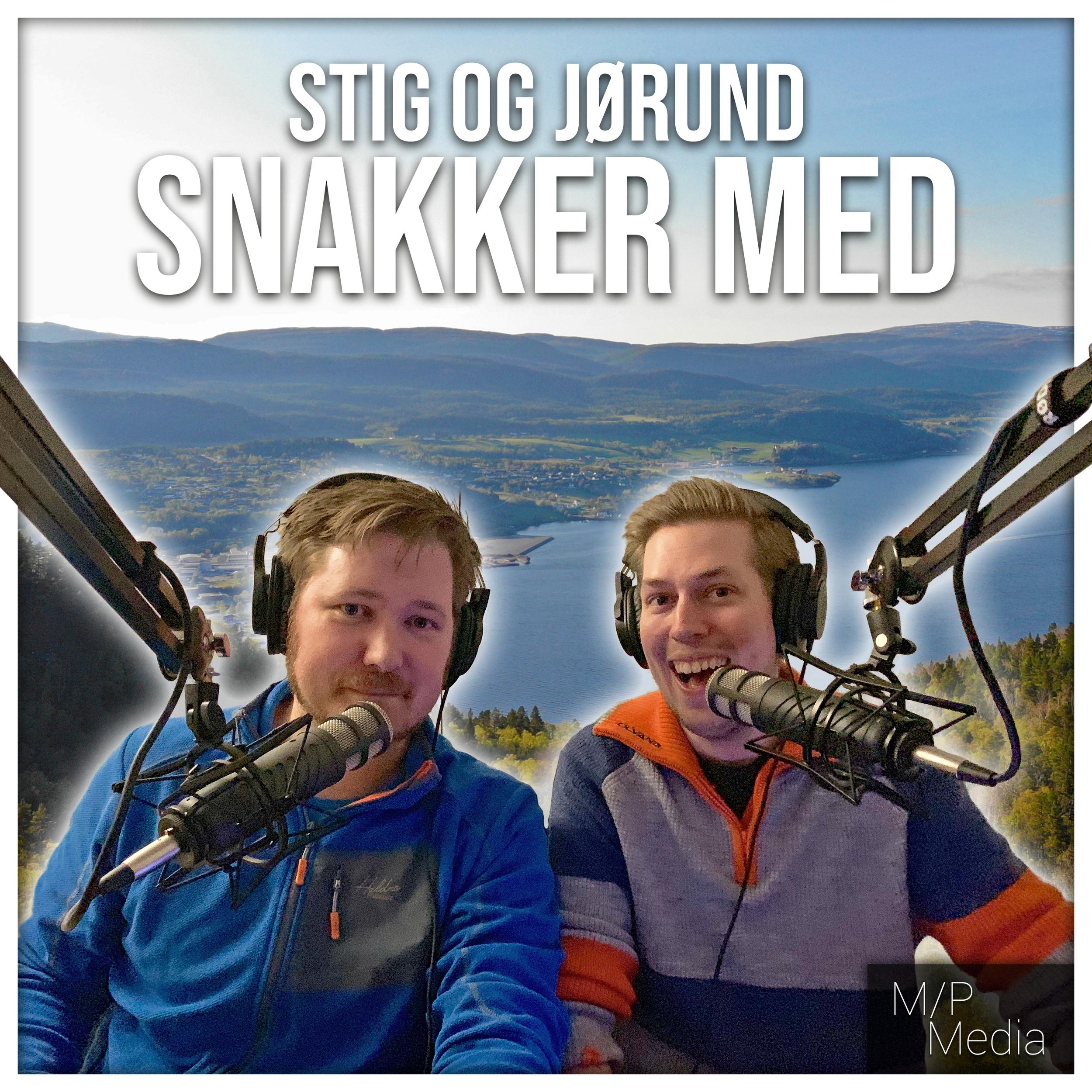 Stig og jørund snakker med - Stig og jørund inviterer gjester til studio for å snakke om stort, smått, alt og ingenting.
