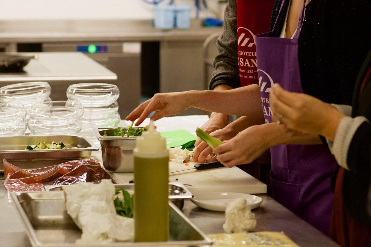 kitchen workshop EHL