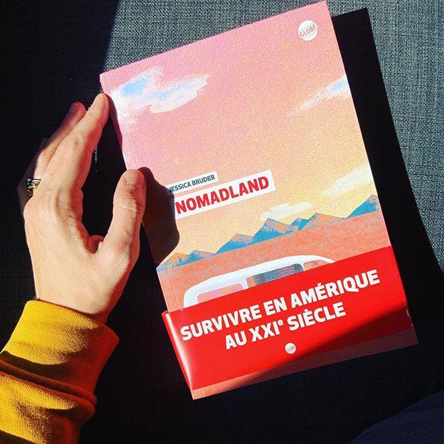 Nomadland de Jessica Burder. Une enquête bouleversante sur l'envers du rêve américain et les destins brisés de l'après 2008. Aussi remuant que passionnant✨une perle. #nomadland#book#bookstagram #jessicabruder #goodbook #america #dream #livre#enquete