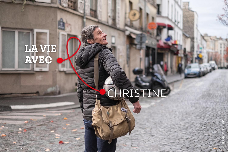 « (Depuis que j'ai appris ma séropositivité), je n'ai plus jamais envisagé le futur sur le long terme. » - Christine, personne vivant avec le VIH