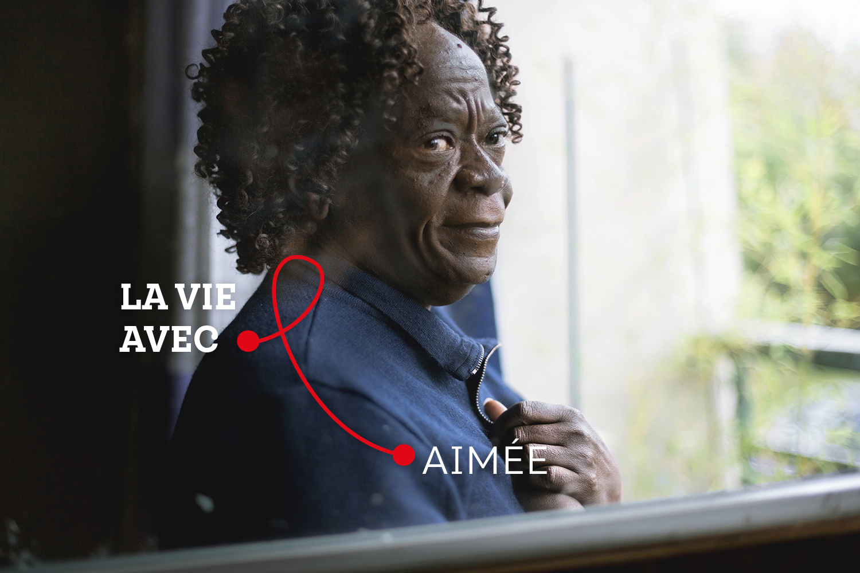« L'environnement du malade est important ! Il va déterminer la volonté de bien se soigner et de se battre contre la maladie », Aimée, Personne vivant avec le VIH et ancienne travailleuse associative