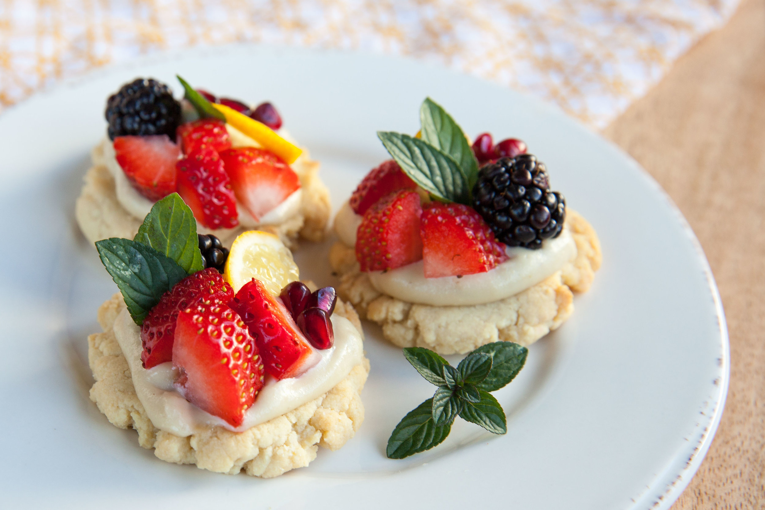Grain Free Mini Tarts via Vivacious Dish