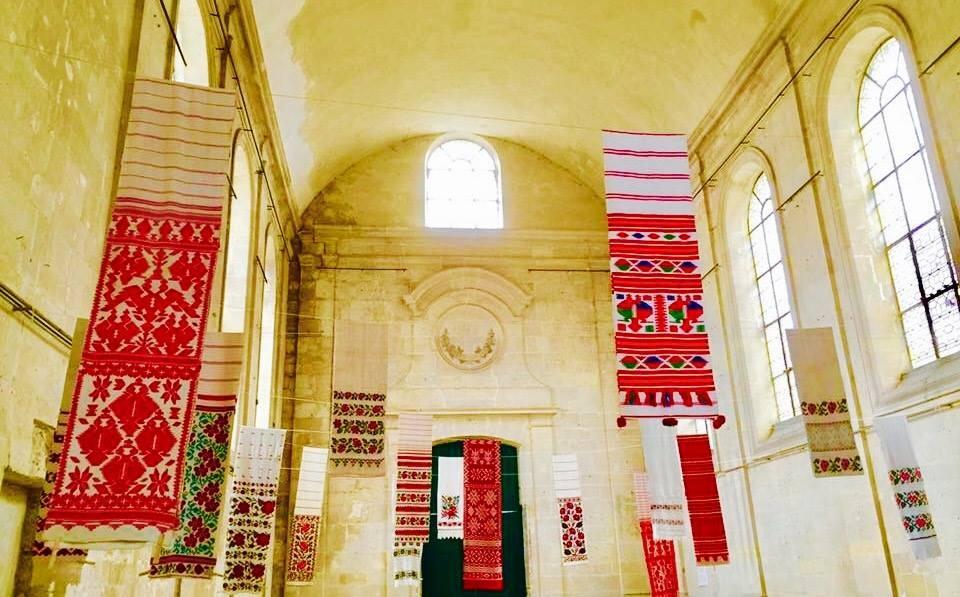 2016 Ukrainian embroidery exhibition