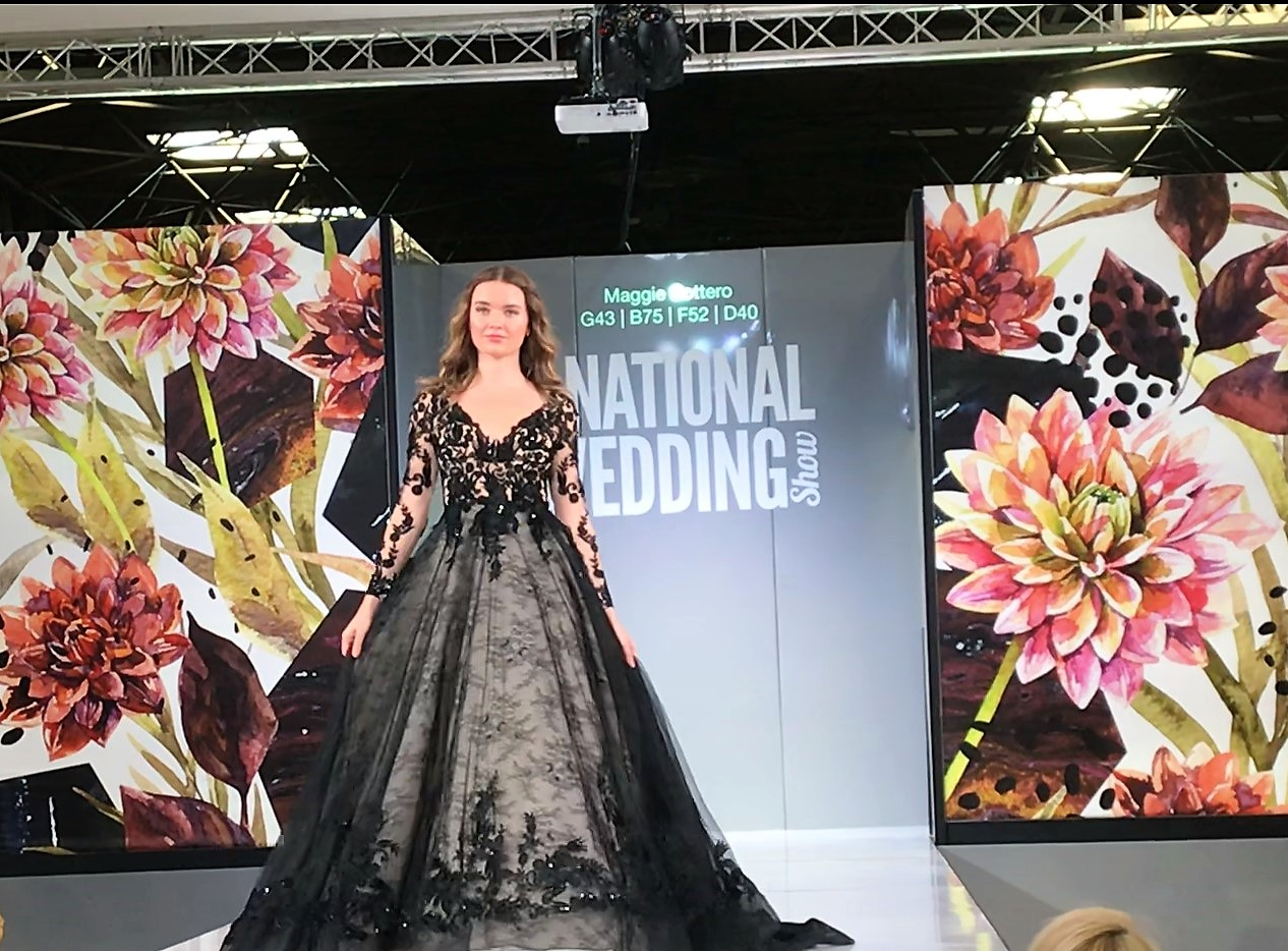 Maggie Sottero at Birmingham National wedding show, September 2018