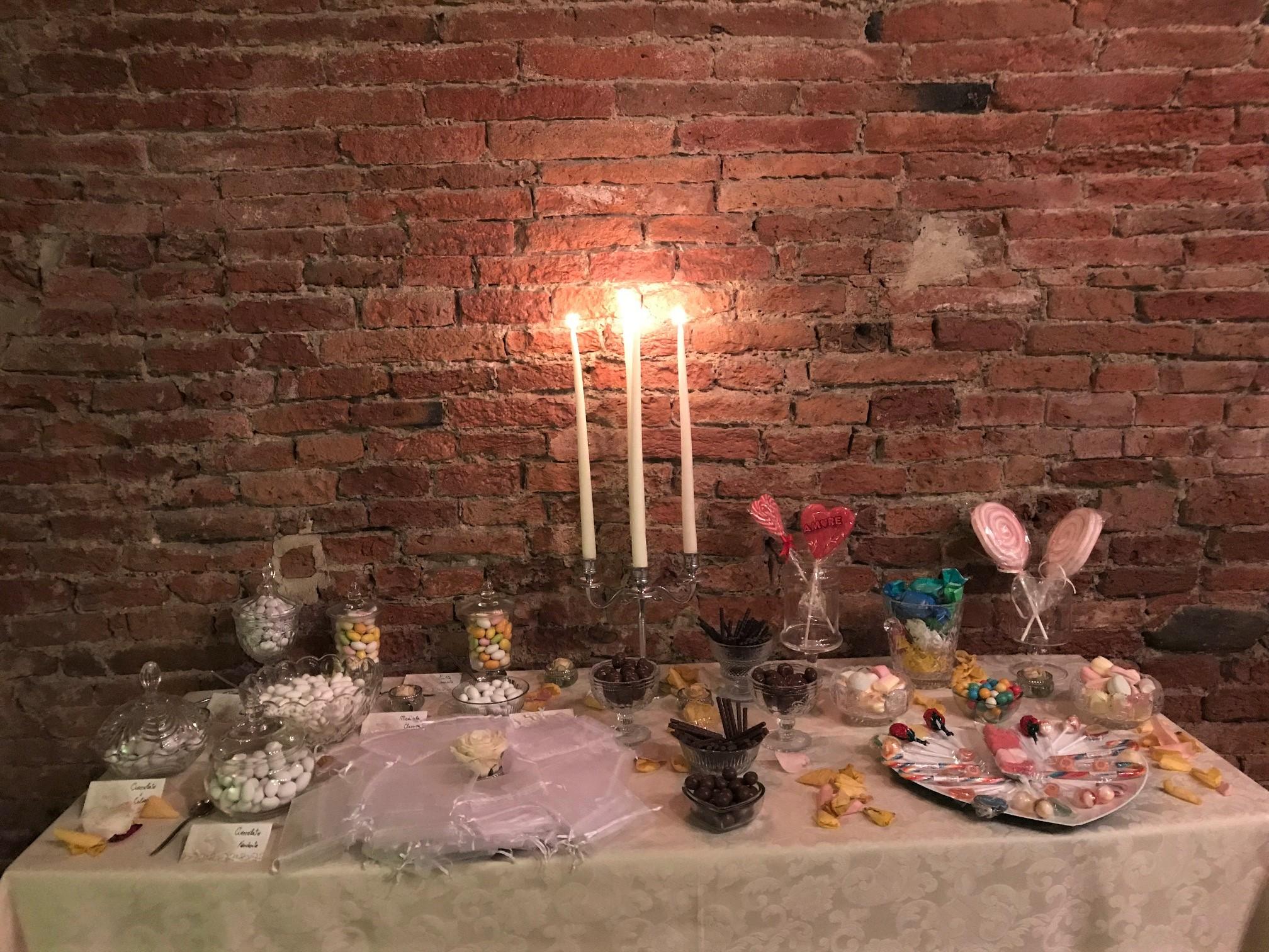 Umbria Wedding Table Setting