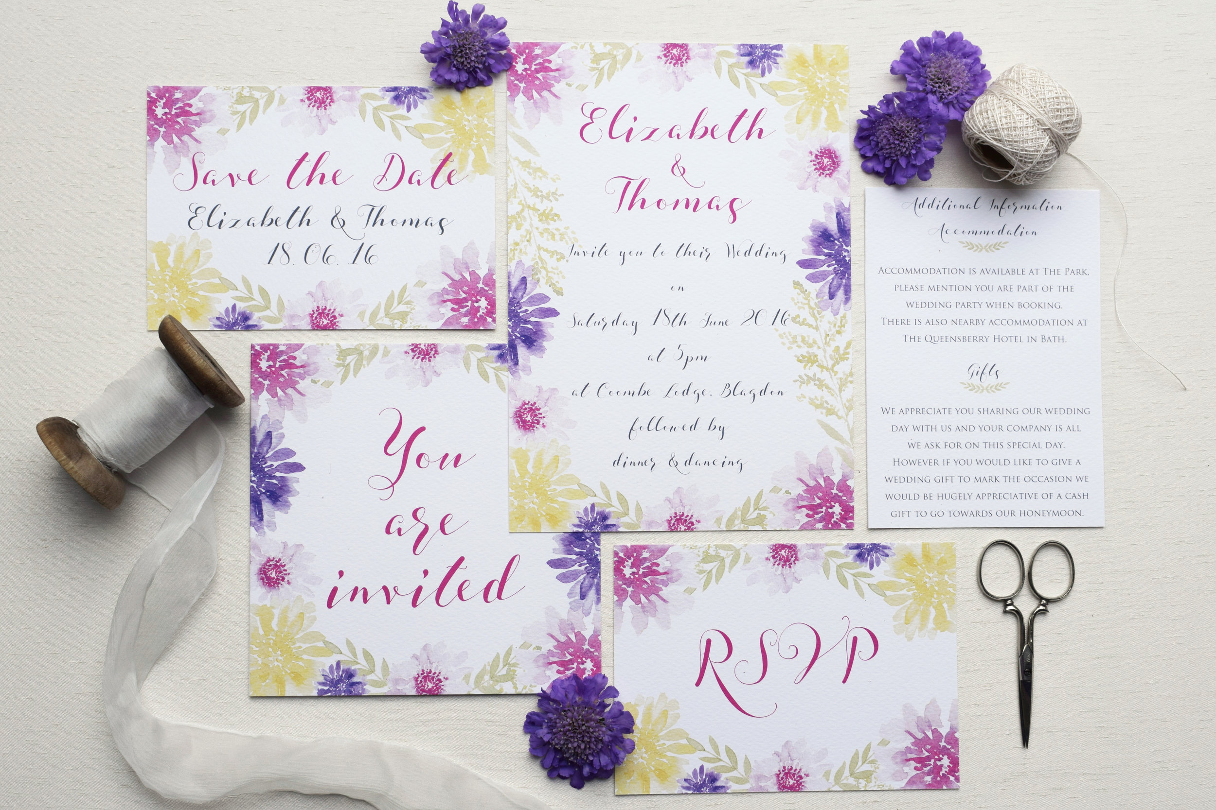 Bloom floral wedding stationery collection.jpg
