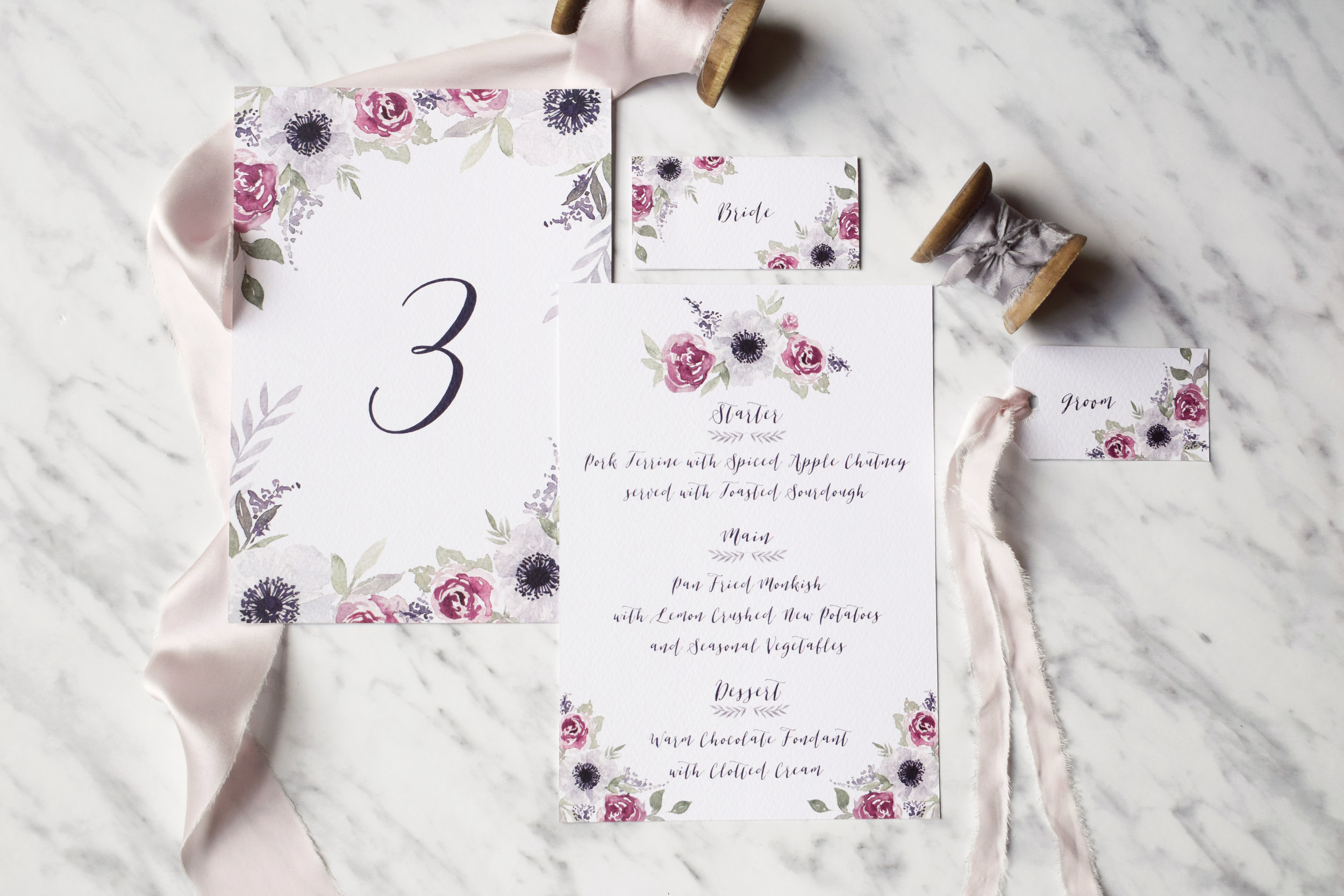 Secret Garden Wedding Reception Stationery.jpg