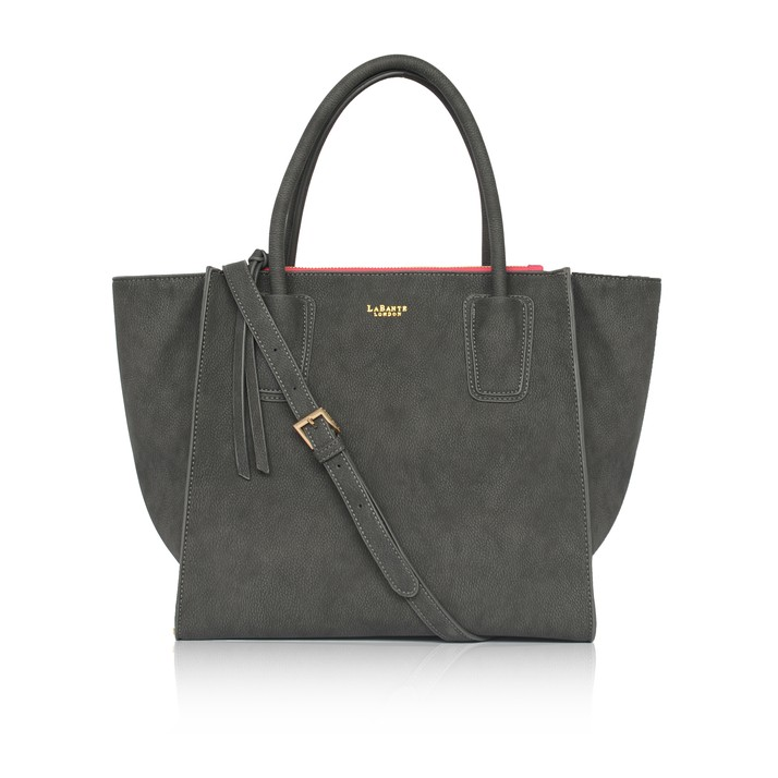 LABANTE LONDON   DEMI SHOULDER BAG, GREY    €140,10
