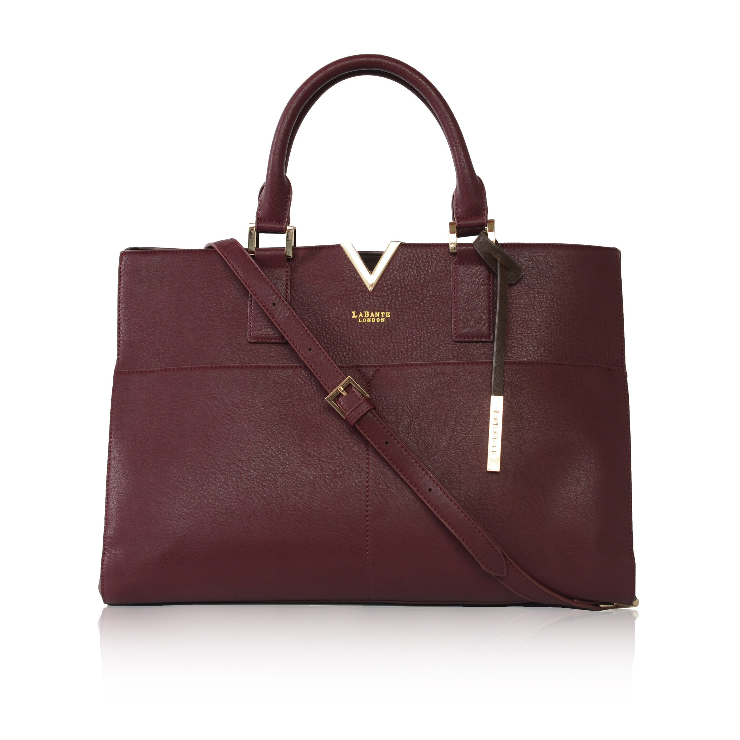 LABANTE LONDON   aVANT CARRYALL BAG, BORDEAUX  €175,16