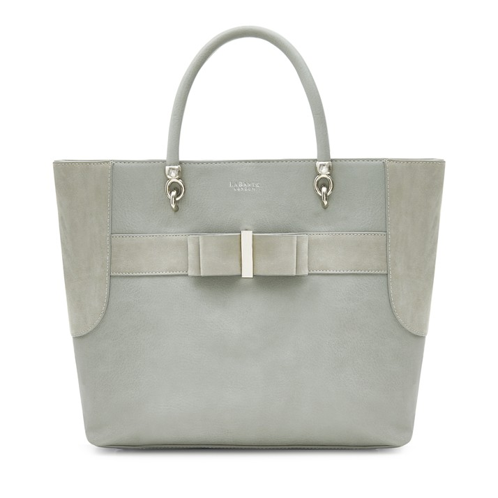 LABANTE LONDON   ALLY TOTE BAG, GREY  €175,16