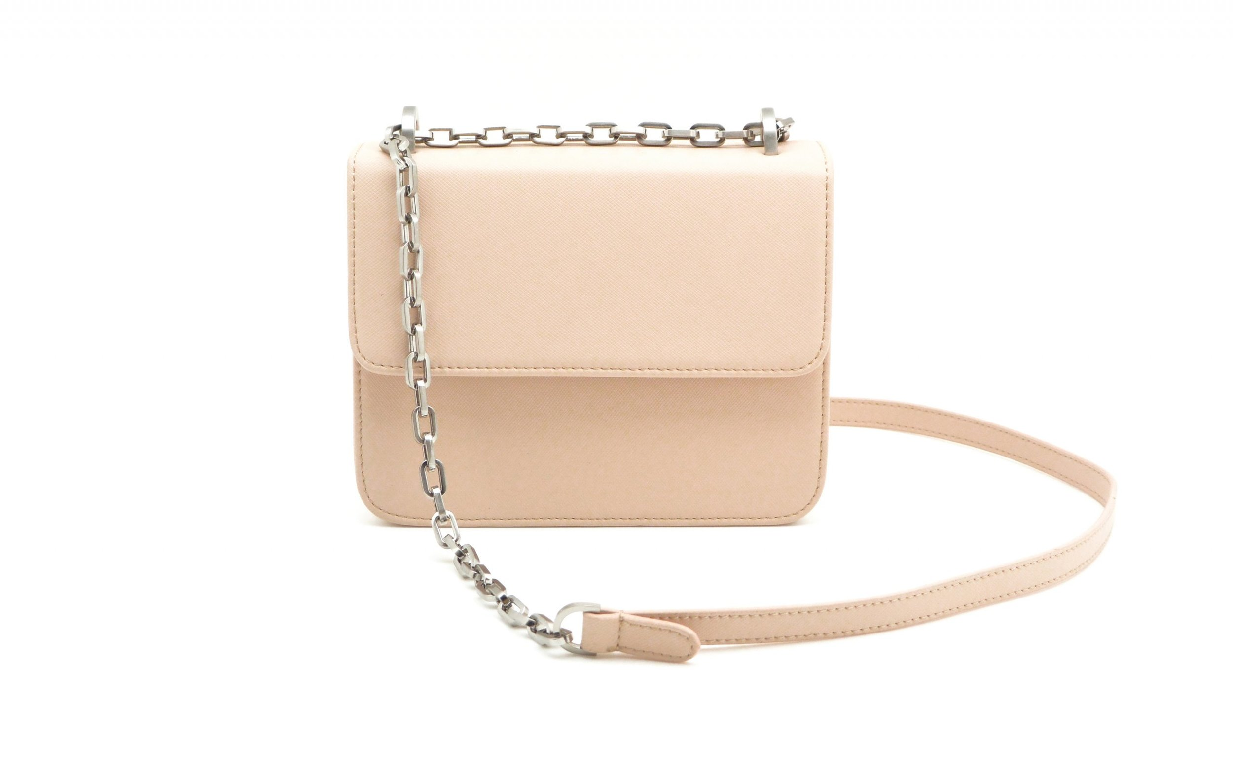DENISE ROOBOL  MINI CRUISE BAG, NUDE STRIPE  €135